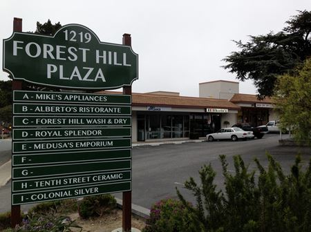 Forest Hill Plaza Shopping Center - Pacific Grove