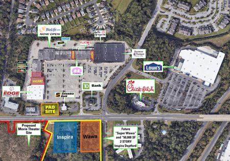 Deptford Plaza Shopping Center - Woodbury