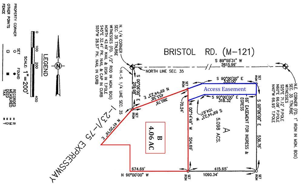 SEC of I-75/US-23 & Bristol Road