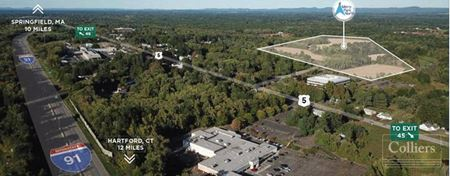 Shovel Ready Class A Industrial Opportunity in Central CT- up to 500,000 SF - Enfield