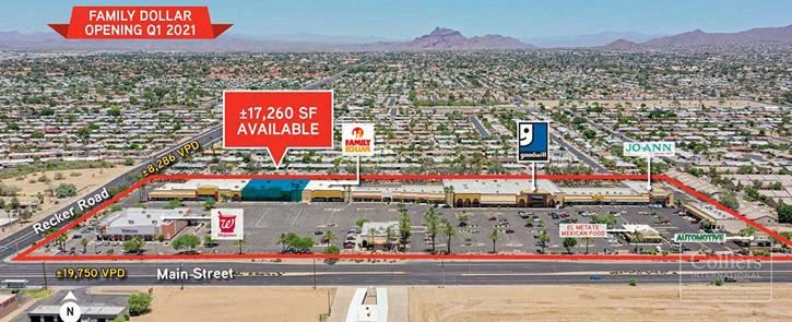 Retail and Flex Industrial Space for Lease in Mesa