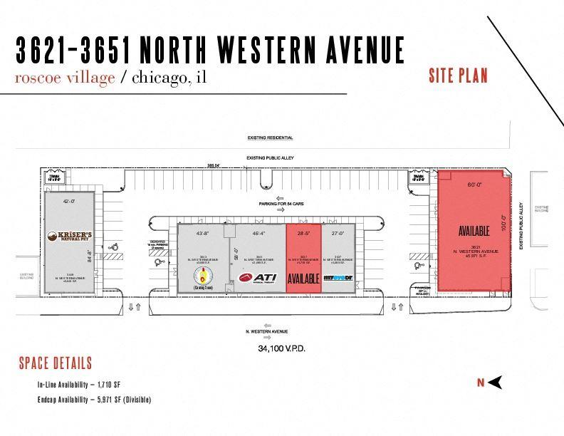 New Multi-Tenant Development - 3621-51 North Western Avenue