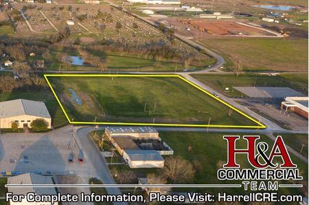 Former Mart ISD Practice Football Field - Mart