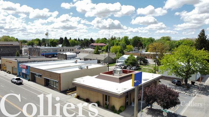 Former Bank Building for Sale | Shoshone, Idaho