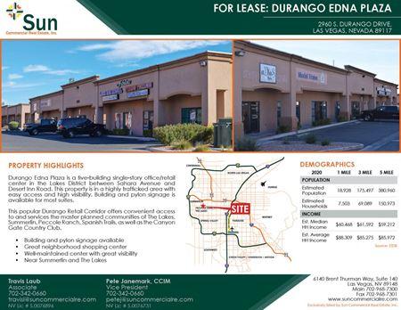 Durango Edna Plaza - Las Vegas
