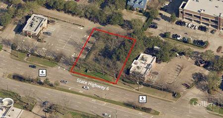 For Sale | Shovel-Ready ±18,629-SF Pad Site in Sugar Land - Hwy 6 - Sugar Land