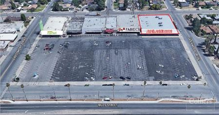 Anchor Space available in the Hillcrest Shopping Center - Bakersfield