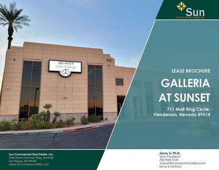 Galleria at Sunset - Henderson