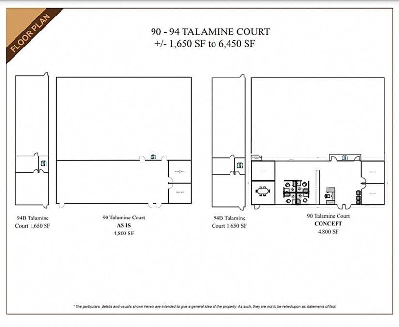 90-94B Talamine Court