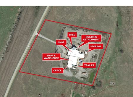 30,000 SF Industrial and Office Space on 13.3 AC - Hominy