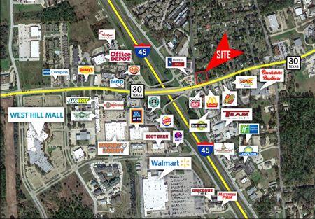 0.55 Acres Available HWY 30 & I-45 Huntsville - Huntsville