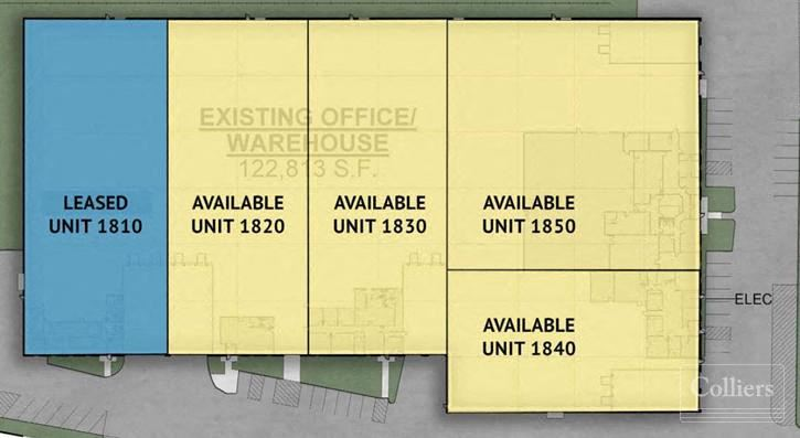 17,832 - 98,333 SF Available for Lease in Gurnee