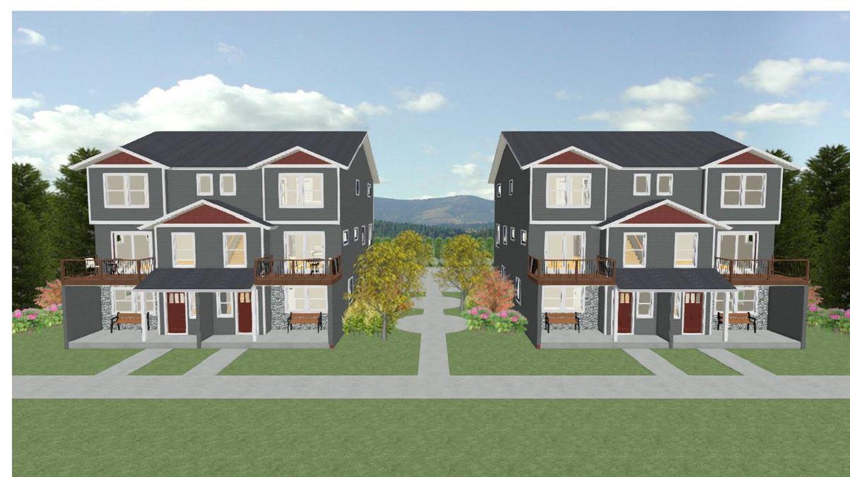 Fully Entitled Land for Two Duplex Buildings  (Lexington Lofts)