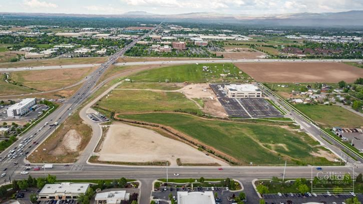 Eagle Commons at Overland | 4 Pads of Development Land | Meridian, ID