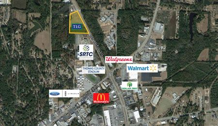 12.51 AC on Hwy 19 - Thomasville
