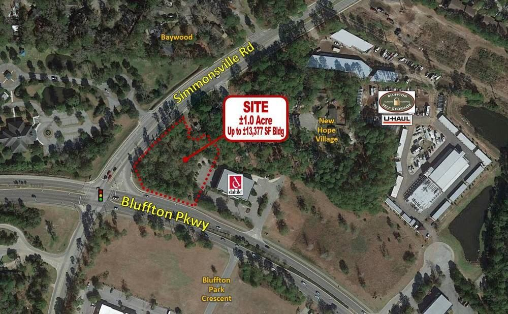 AAA Signalized Corner for Sale in Bluffton