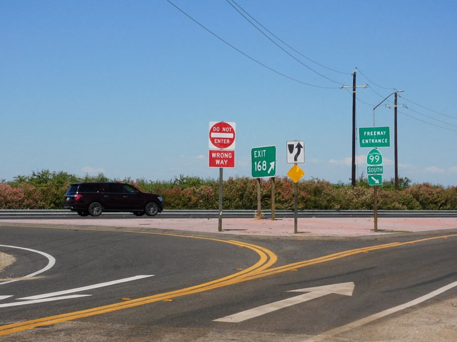 13.98 Acres on Highway 99