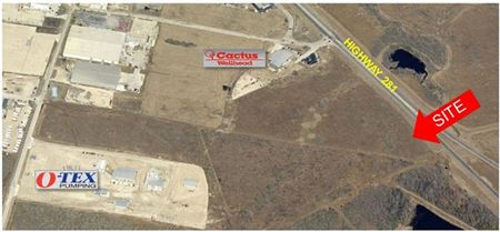 For Sale or Lease   3-AC Tract Hwy 281 Pleasanton - Eagle Ford Shale Area - Pleasanton