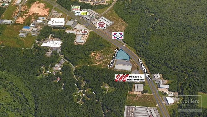 For Sale: Maumelle Blvd & Corporate Dr Land