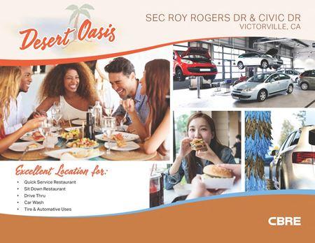Desert Oasis-Victorville-SEC Roy Rogers Dr & Civic Dr at I-15 - Victorville