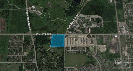 8 Acres of Land for Sale on the SWC of 14th Street & Dugdale Road in North Chicago - North Chicago