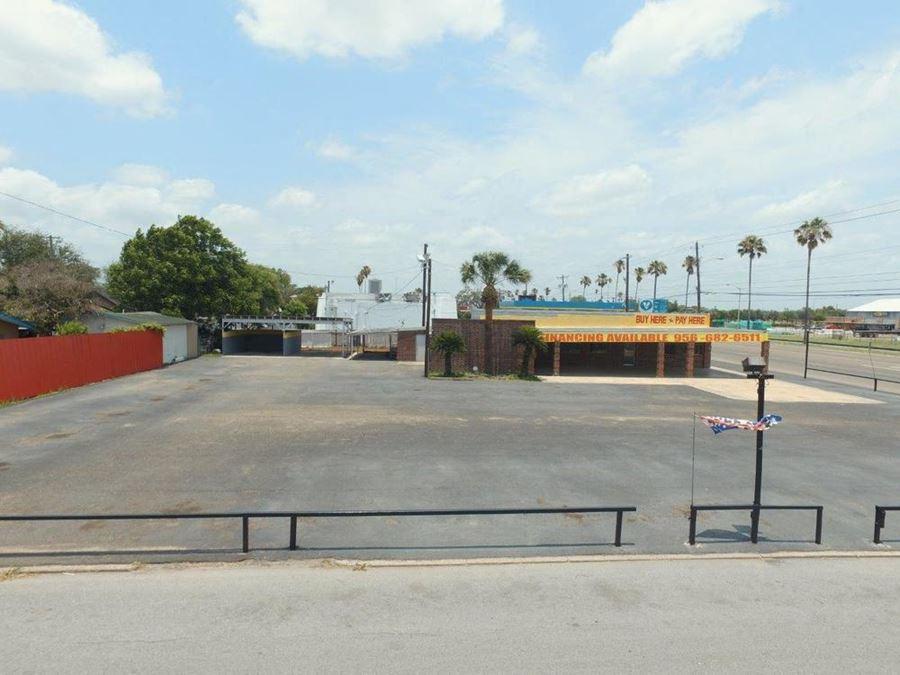 Former Tisdale Car Lot