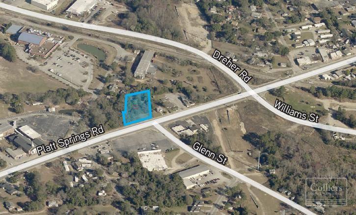 ±1-acre development site on Platt Springs Road