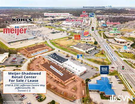 Meijer-Shadowed Retail Centers - Jeffersonville