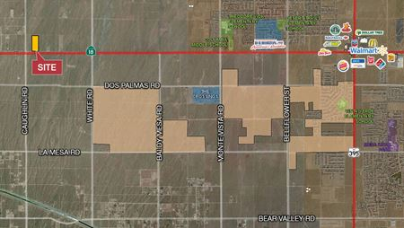 Commercial Land on Palmdale Road/Highway 18 - Adelanto