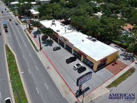 6 Unit Strip Center on busy US41 - Sarasota