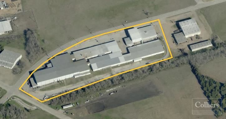 For Sale or Lease | ±132,572 SF Manufacturing Facility on 7.026 Acres