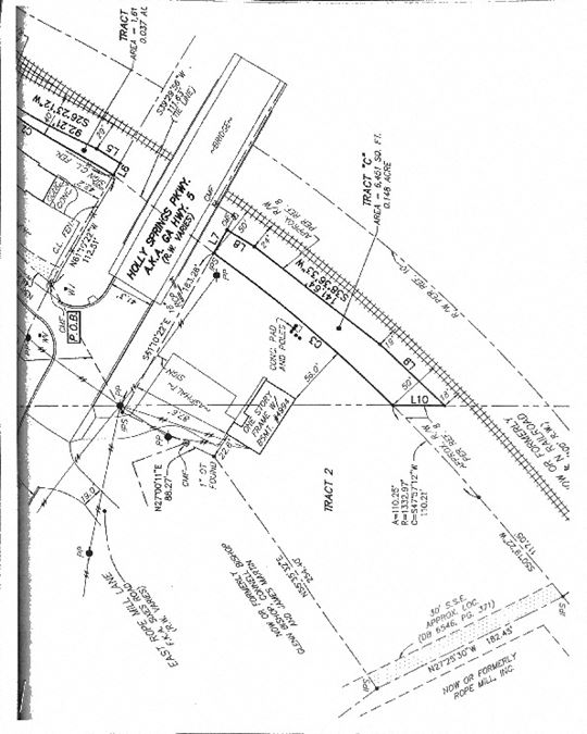Holly Springs Pkwy Potential Development 1.87