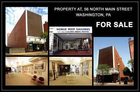 The World West Galleries Building - Washington