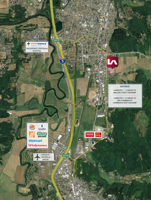 Centralia Mixed-Use Residential Retail Site