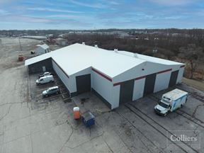 Industrial Building on Secured Lot — Southwest Indy