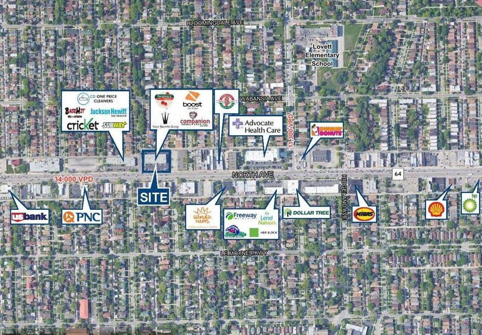 6518-6534 W. North Avenue, Chicago IL