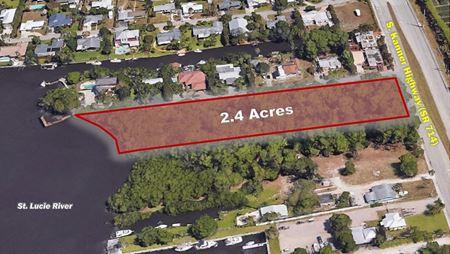 2.4 Acres of Waterfront Commercial - Stuart