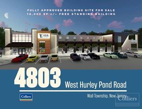Fully Approved +/- 18,000 SF Free Standing Building For Sale