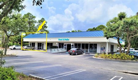 FOR LEASE SPACE IN PINCH A PENNY POOLS & SPAS BUILDING - ROYAL PALM BEACH
