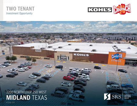Midland, TX - Crunch Fitness & Kohl's - Midland