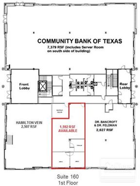 For Lease   1,592 SF Office Space Available at Sweetwater