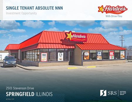 Springfield IL - Hardees - Springfield