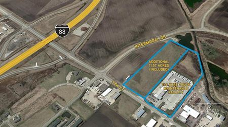 For Sale or Lease | Truck Maintenance Facility - Rochelle