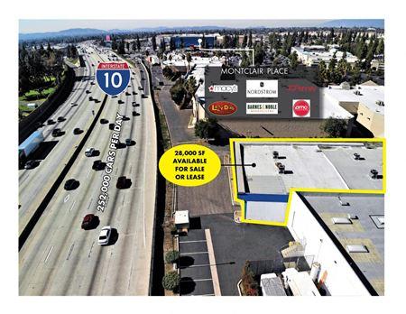 Freeway Visible Vacant Retail Building - Montclair