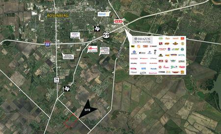 +/- 189.7 Acres | 7222 Pleak Rd | Richmond, TX - Richmond