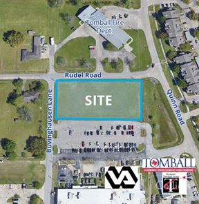 For Sale or Lease | ±1.04 AC in Tomball