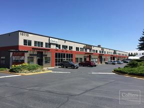 Warehouse spaces for lease on Woodinville-Redmond Rd.