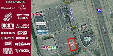 Pad Site Adjacent to Kohl's - Pueblo
