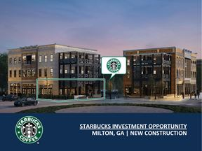 Starbucks Investment Opportunity | New Construction | 5.7% Cap Rate - Milton