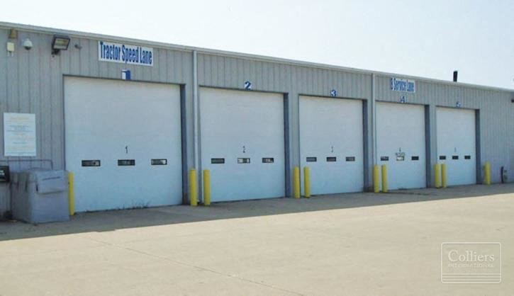 25,250 SF Truck Maintenance Facility Available in Rochelle, IL